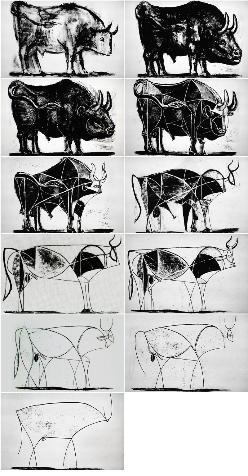 Picasso Bull Series