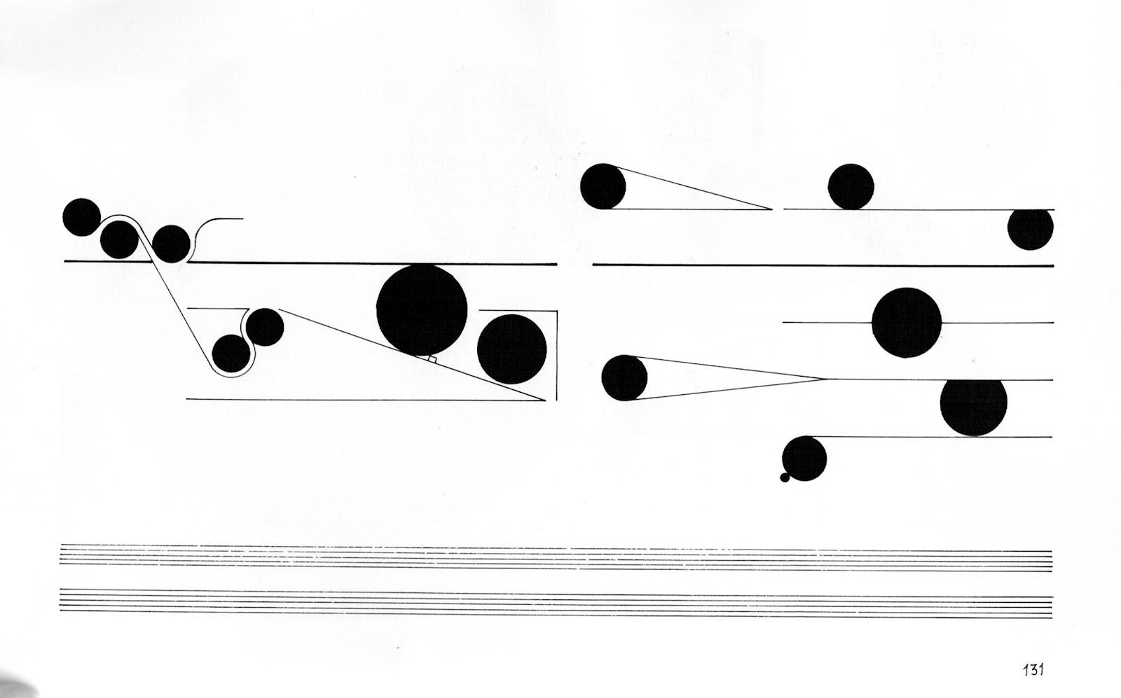 graphic scores Cornelius Cardew – Treatise
